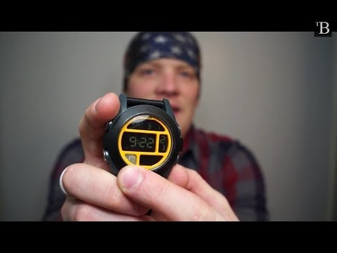 Video Product Review and Demo of Nixon The Baja Watch