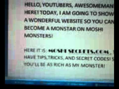 Moshi monsters tips,tricks,codes, all here!
