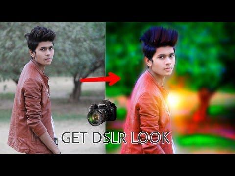 Get DSLR Look on PicsArt    Picsart editing tutorial    Taukeer Editz