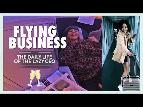 WHAT FLYING BUSINESS CLASS IS ACTUALLY LIKE
