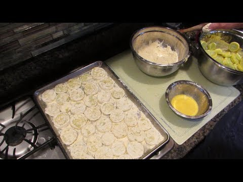 Freezing Squash Breaded for Winter Time Frying | Useful Knowledge