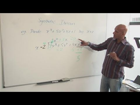 How To Learn Synthetic Division