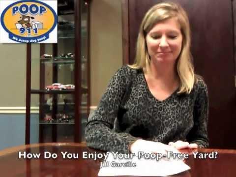 Jill Loves Her Clean Yard with Poop 911!