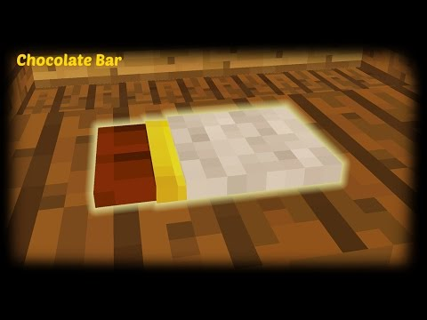Minecraft - How To Make A Chocolate Bar