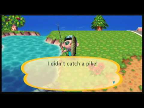 Animal Crossing: City Folk - All 64 Fish Caught!