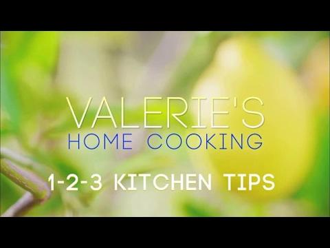 Valerie's 1 2 3 Kitchen Tips | Food Network Asia