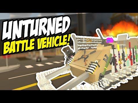 EPIC BATTLE VEHICLE - Unturned Custom Vehicle | The Nipple Machine!