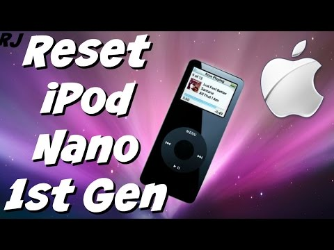How to Reset iPod Nano 1st Generation | Full Tutorial Guide | Robles Junior