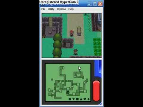 Pokemon Diamond - Catching shiny Mew [NO ACTION REPLAY]