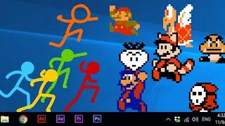 Animation vs. Super Mario Bros (official)