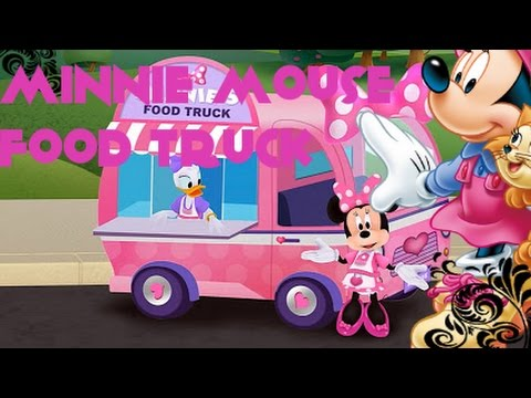 Minnie's Mouse Grill Station in Food Truck - Disney App  Chef's Special