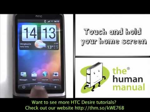 Email setup | HTC Desire | The Human Manual