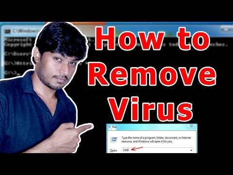 How To Remove Virus using cmd (2018)