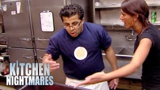 Restaurant Runs Out Of Cups, Plates & Burgers | Kitchen Nightmares