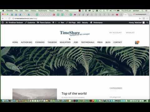 Bebo Wordpress Video Tutorial - How to use wordpress