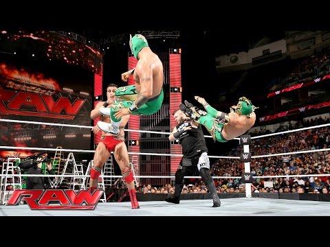 Xxx Mp4 The Lucha Dragons Vs Kevin Owens Amp Alberto Del Rio Raw June 13 2016 3gp Sex