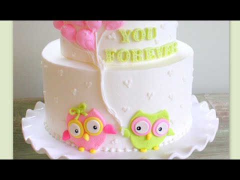 Owl Love you Forever! Cake Decorating Tutorial