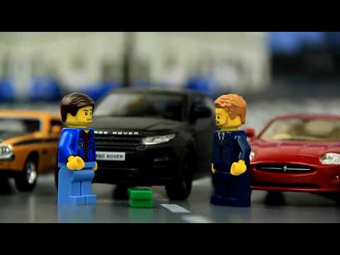Police chase car thief from a car dealership. Video for kids.