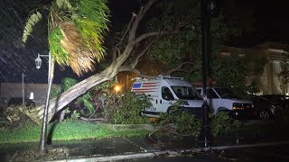 Hurricane Irma Hits Key West, FL In The Overnight 9/9/2017