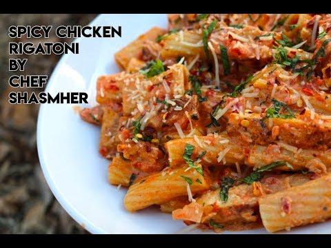 Spicy Chicken Rigatoni Recipe | How To Make Spicy Chicken Rigatoni