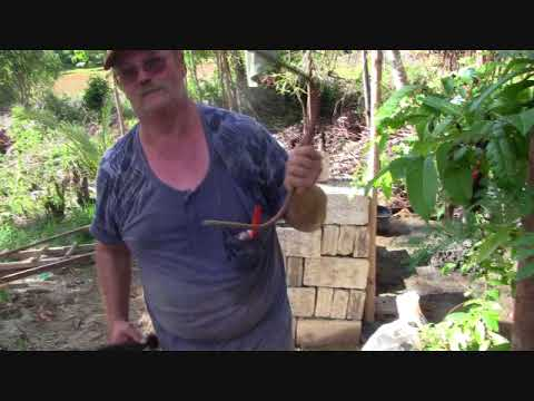 DIGGING A WELL FILIPINO STYLE IN BRIAN AND MARICEL'S PROPERTY FILIPINA FOREIGNER RELATIONSHIP