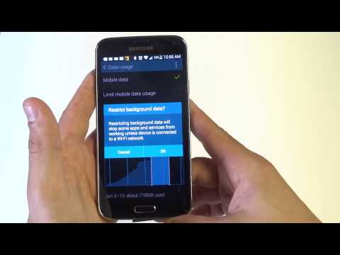 Samsung Galaxy S5: How to Prevent Apps From Using Mobile Data on the Background - Fliptroniks.com