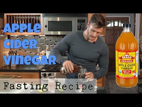 Apple Cider Vinegar Drink Recipe for Fasting: Thomas DeLauer