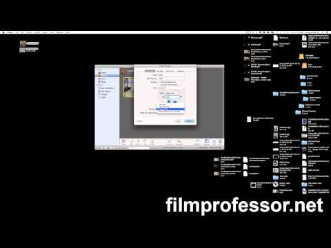 Compressing Image Size in iPhoto for Photo Assignments