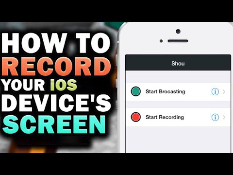 HOW TO RECORD YOUR IOS 10+ iPhone SCREEN FOR FREE *WORKING* 2017