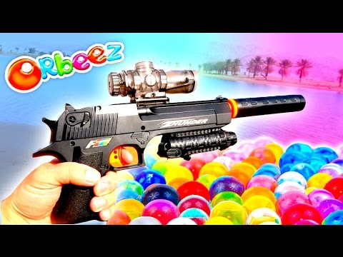 3 Extreme ORBEEZ NERF WAR Guns! **ULTRA RARE!** 😎🔫💎🔍🔥😱 #nerf