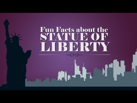 Statue Of Liberty Educational Video Learn Fun Facts About The Statue