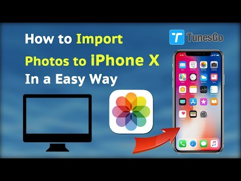 How to Import Photos to iPhone X In a Easy Way