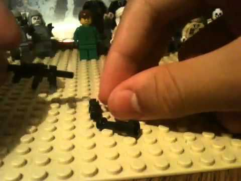 Lego CoD Zombies: Black Ops Weapons
