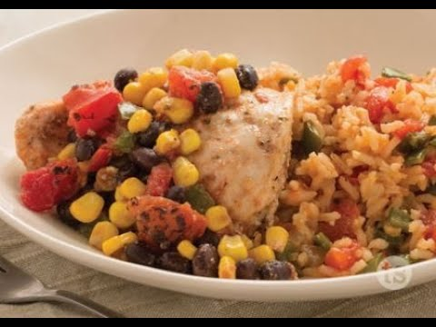 Salsa Chicken - Fast Salsa Chicken and Rice Recipe