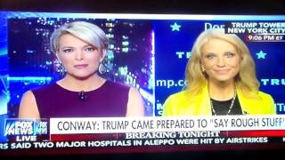 Megyn Kelly Beat The Crap Out Of Kellyanne Conway