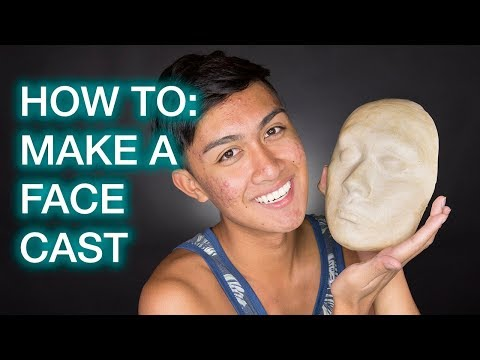 How To: Make Your Own Face Cast!