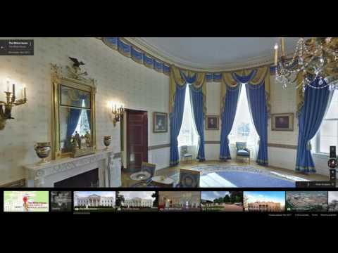 GOOGLE MAPS WHITE HOUSE TOUR?!?!