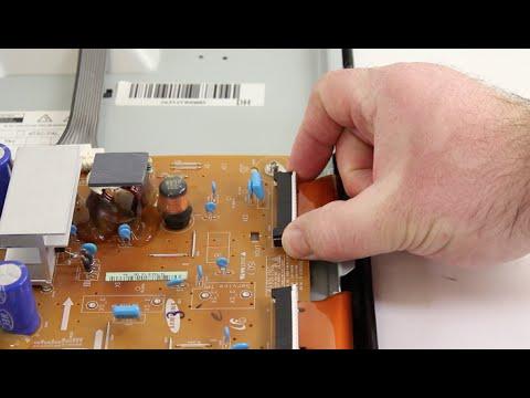 Samsung Plasma TV Repair - BN96-16510A X-Main Board Replacement