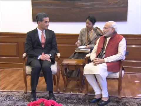 05 feb, 2016 - Chief Executive of Hong Kong SAR calls on Indian PM Modi