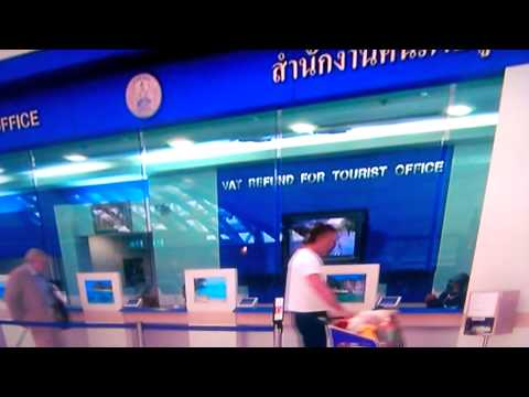 Bangkok Airport VAT Refunds