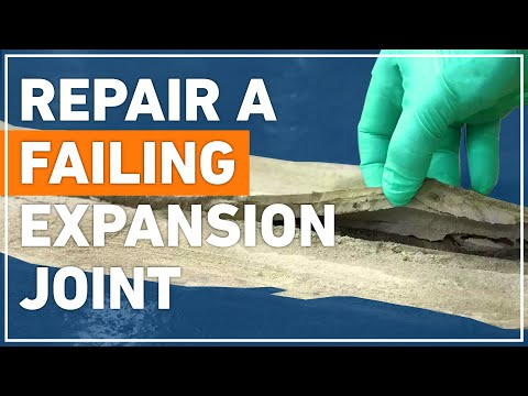 How To Repair Failing Concrete Expansion Joint with Belzona