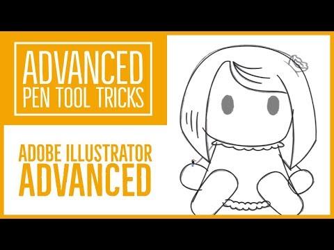 Advanced Pen Tool Tricks using Adobe Illustrator - Illustrator Advanced Training [5/53]