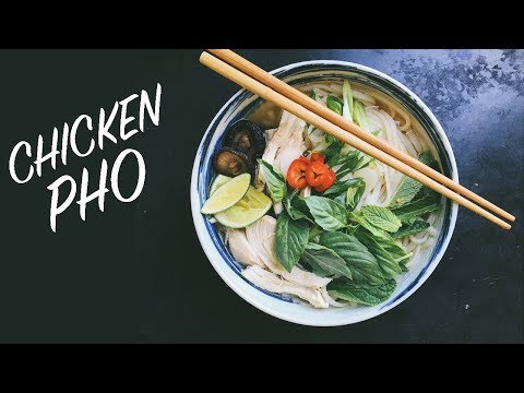 Pho: How to Make Homemade Chicken Pho