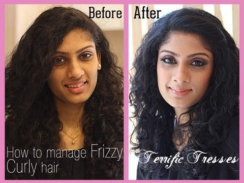How to manage Curly Frizzy hair
