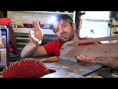 HOW TO Change your Table Saw Blade AND What you'll need