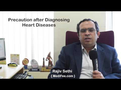 Precautions to Take after Being Diagnosed with Heart Disease
