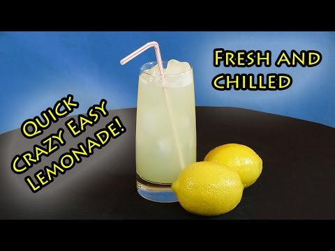 Quick and Easy Homemade Lemonade