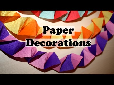 DIY Paper Decorations | Homemade Christmas Decorations | DIY Party Decorations