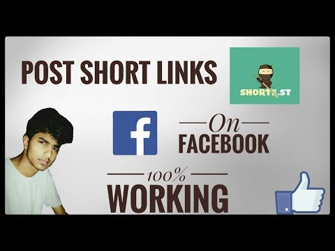 HOW TO POST SHORT LINK ON FACEBOOK