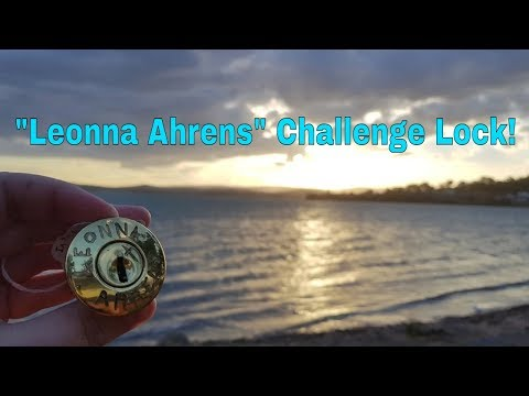 Leonna Ahrens - Challenge lock from LHG!